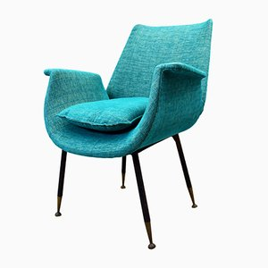 Italian Lounge Chair by Gastone Rinaldi, 1950s