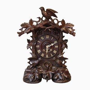 Horloge de Cheminée Cuckoo Forêt Noire, 1860s
