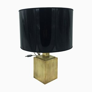 Brass Table Lamp from Rue Royale, 1960s