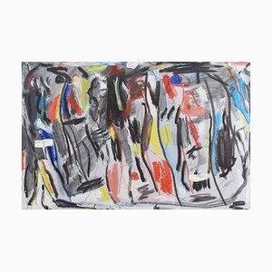 Untitled II Abstract Composition von Erez Yardeni, 2018