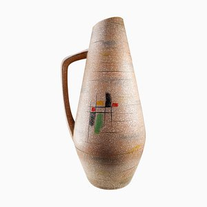 Large Mid-Century Ceramic Vase-Vessel from Scheurich, Germany, 1960s