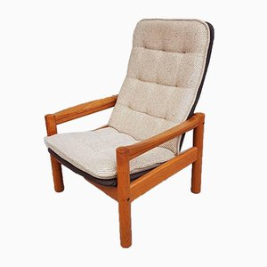 Mid-Century Danish Teak Armchair from Domino Mobler