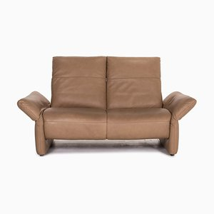 Brown Leather Elena 2-Seat Function Sofa from Koinor