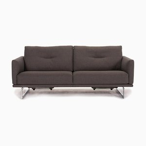 Grey Fabric Mellow 2-Seat Relax Function Sofa from Intertime