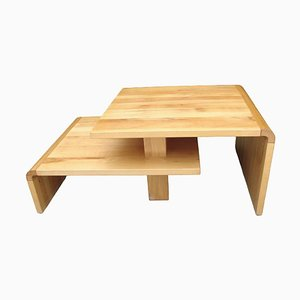Wooden Coffee Table, 1980s