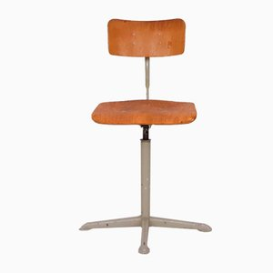 Drafting Stool by Friso Kramer for Ahrend De Cirkel, the Netherlands, 1950s