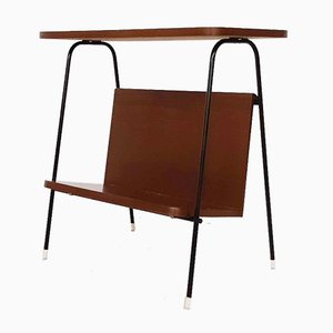 Side Table or Magazine Stand Attributed to Pastoe, the Netherlands, 1950s