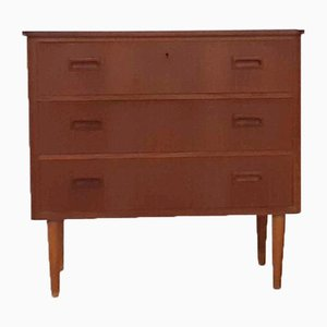 Mid-Century Teak Chest of Drawers, the Netherlands, 1950s