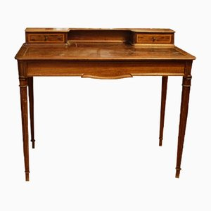 Vintage French Desk with Drawer, 1880s