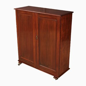 Antique Mahogany Office Filing Cabinet