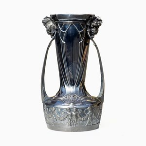 Early-19th Century Art Nouveau Vase by Albert Mayer for WMF