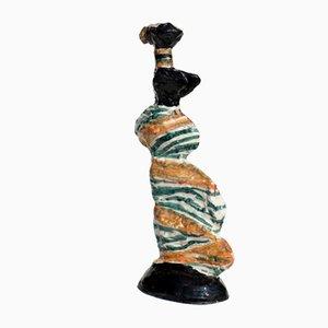 Escultura de cerámica de Salvatore Fiume, años 80