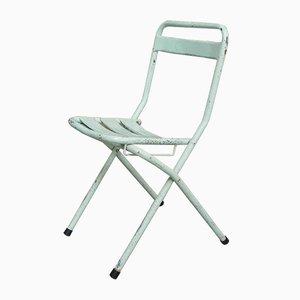 Industrial Steel Folding Chair, 1950s