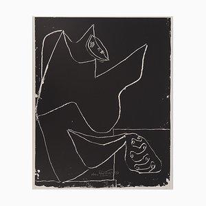 Litografia Dancer and Hands di Le Corbusier