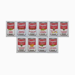 Vintage Campbell's Soup Serie II Screen Print after Andy Warhol