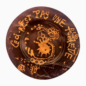 Vintage This is not a Plate after Salvador Dali, 1970