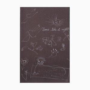 Litografia Holy Cats C Offset di Andy Warhol, 1957