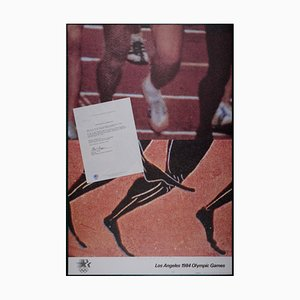 Los Angeles Olympic Games Offset Lithograph by John Baldessari, 1984