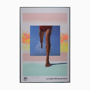 Los Angeles Olympic Games Offset Lithograph by April Greiman, 1984