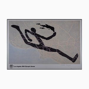 Los Angeles Olympic Games Offset Lithograph by Martin Puryear, 1984