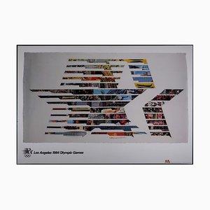Litografia Los Angeles dei Giochi Olimpici di Robert Rauschenberg, 1984