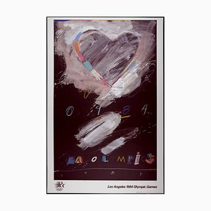Los Angeles Olympic Games Offset Lithographie von Raymond Saunders, 1984