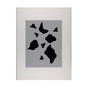 Constellation Laws of Chance Screenprint by Jean Arp, 1933