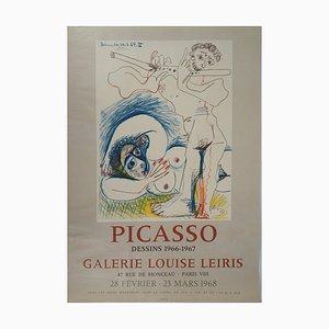 Litografia The Flute vintage di Pablo Picasso