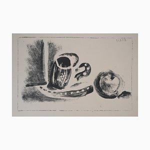 Lithographie Coupe et Pomme par Pablo Picasso, 1947