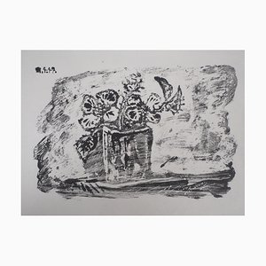 Small Flowerpot Lithograph by Pablo Picasso, 1947