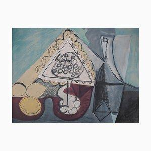 Lithographie Table de Citrons après Pablo Picasso, 1960