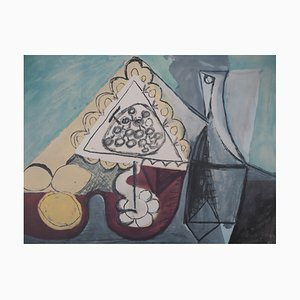 Table of Lemons Lithograph after Pablo Picasso, 1960