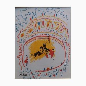 La Petite Corrida Lithografie von Pablo Picasso, 1958