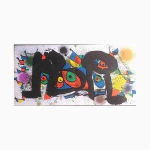 Lithographie Chicks par Joan Miró, 1974