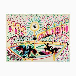 Lithographie Race de Pablo Picasso, 1966
