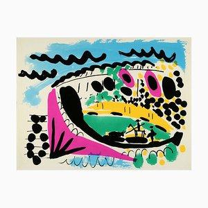 Stierkampf Lithographie nach Pablo Picasso, 1966