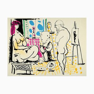 Susanna and the Elders Lithograph by Pablo Picasso, 1966