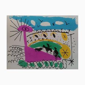 Lithographie Race II Vintage d'après Pablo Picasso