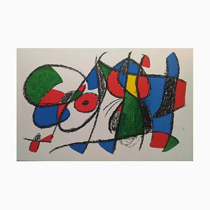 Lithograph VIII after Joan Miró