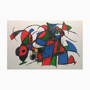 Vintage Lithographie III nach Joan Miró