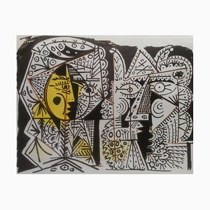 Untitled Lithographie nach Pablo Picasso, 1966