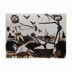 Lithographie Untitled d'après Pablo Picasso, 1966