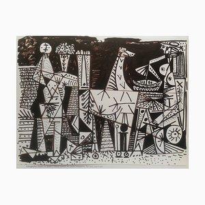 Litografia senza titolo di Pablo Picasso, 1966