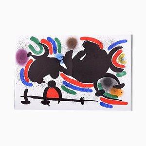 Litografía VIII 1972 de Joan Miró, 1972