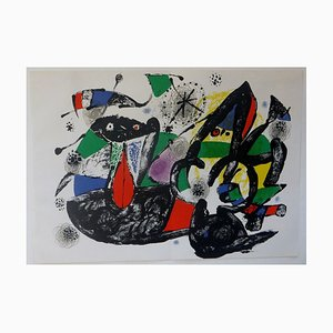 Hommage à Dorothea Tanning Lithograph by Joan Miró, 1977