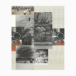 Medios mixtos sin título de Robert Rauschenberg, 1984