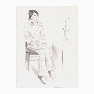 Lithographie Yves Marie par David Hockney, 1974