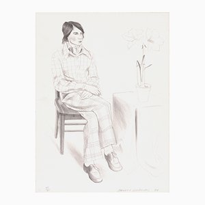 Yves Marie Lithograph by David Hockney, 1974