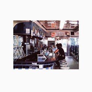 Blue Diner Silk Screen by Ralph Goings, 1995