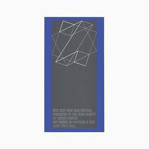 The 10th New York Film Festival Siebdruck von Josef Albers, 1972